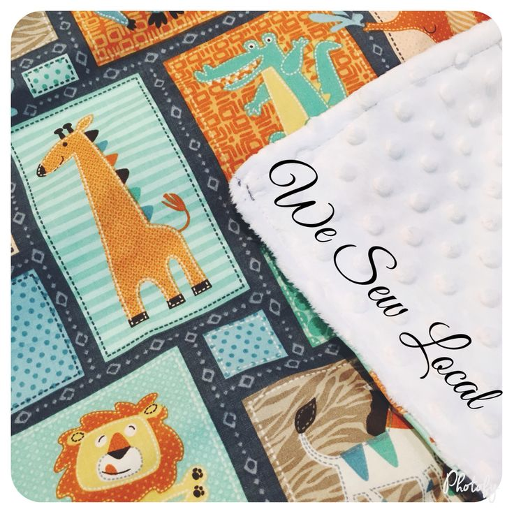 Large Minky Baby's Rug $30 from We Sew Local