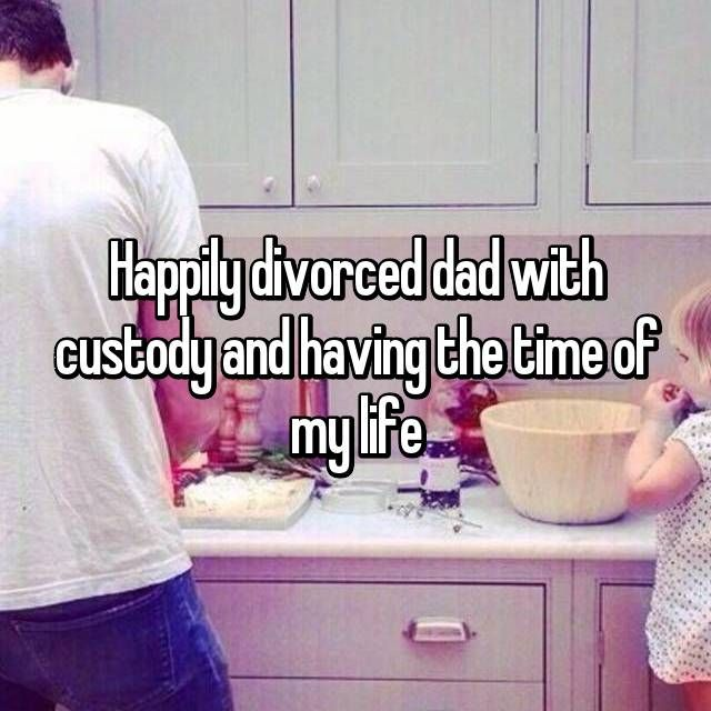 Dating a dad with partial custody