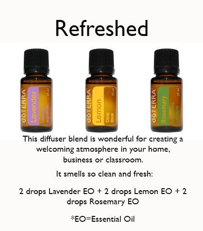 Keep your home smelling fresh. :)