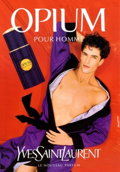 Opium Pour Homme by Yves Saint Laurent with Rupert Everett (1995).