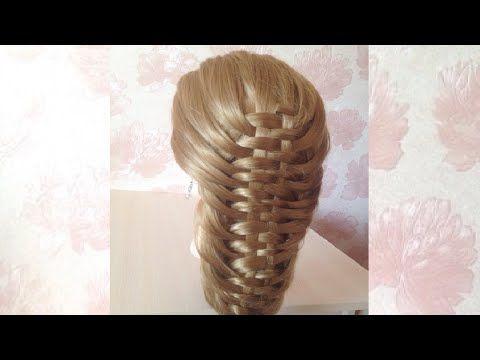 ♥ ПРИЧЕСКА ♥ Коса Корзинка ♥ HAIRSTYLE Plait Basket ♥ - YouTube