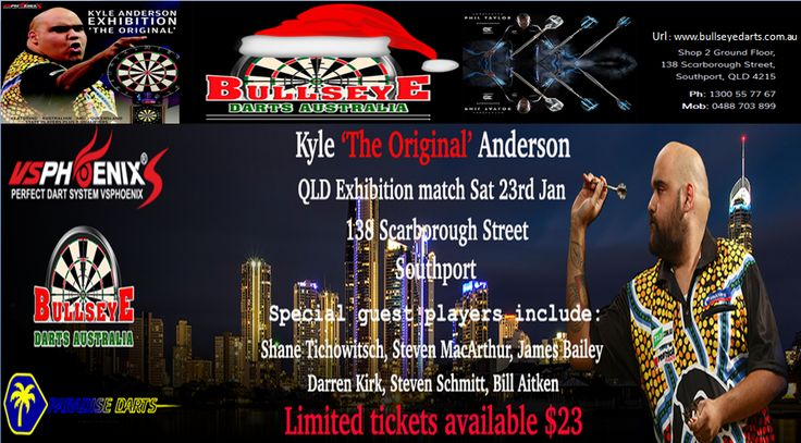 Bullseye Darts Australia is a one-stop shop in Australia to buy darts, flights, shafts, cases & wallets, dartboards & Oche and accessories online. We stock a complete range of all our products in the most popular brands. We provide free shipping on all non bulky order over $30. http://www.bullseyedarts.com.au