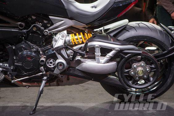 Cycle World - EICMA 2015 FIRST LOOK: 2016 Ducati XDiavel Cruiser