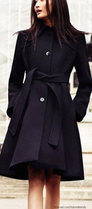 Black coat by Max