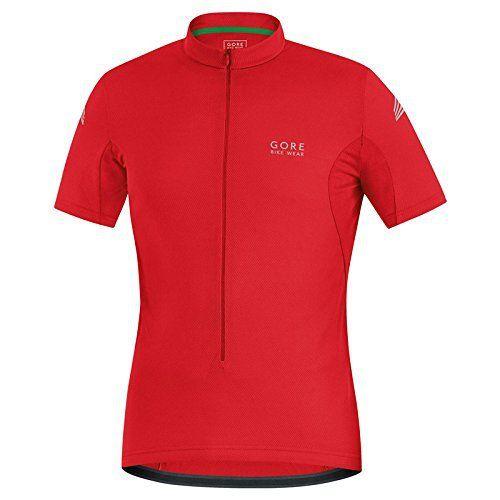 Gore Selems Maillot de Cyclisme Homme: le maillot gore bike wear element rouge est un court été spécifique pour le modèle masculin. il met…
