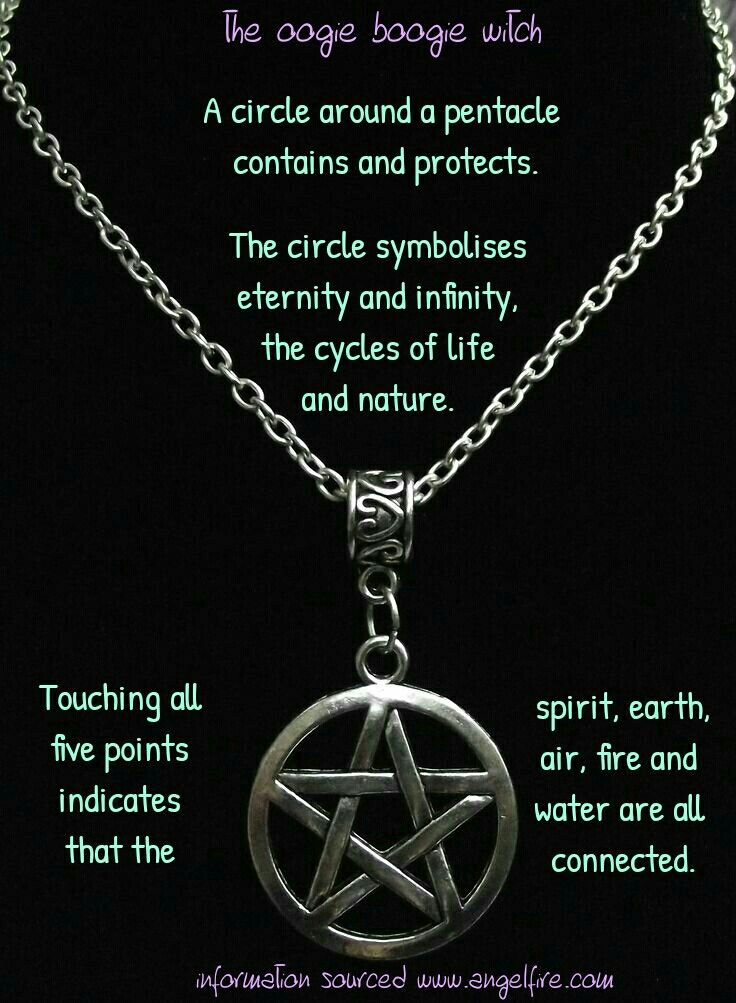 Witches pentacle