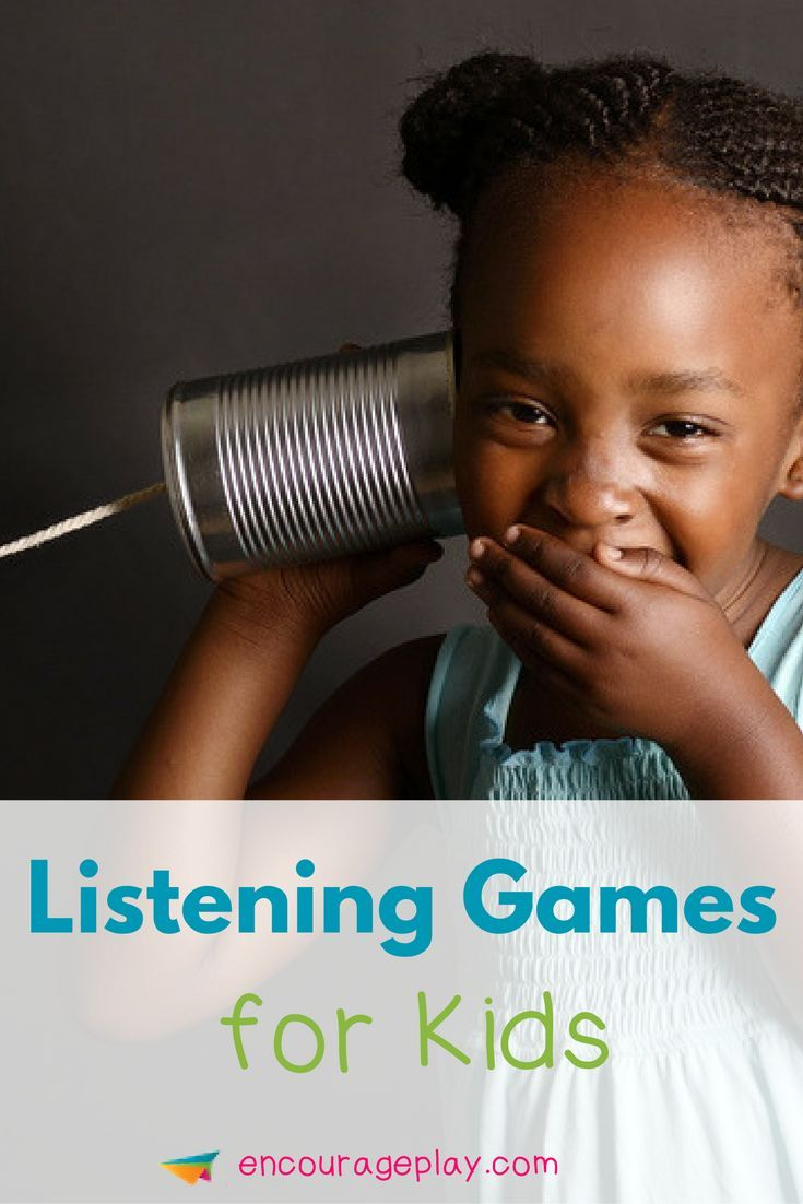 Listening Games for Kids http://www.encourageplay.com/blog/listening-games-for-kids Listening Games | Games to work on social skills | Fun Games for Kids | Learn social skills through play