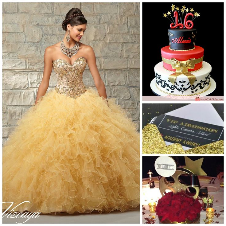 Lights, Camera, Action! | Hollywood themed Quinceanera | Red Carpet at your Quince |