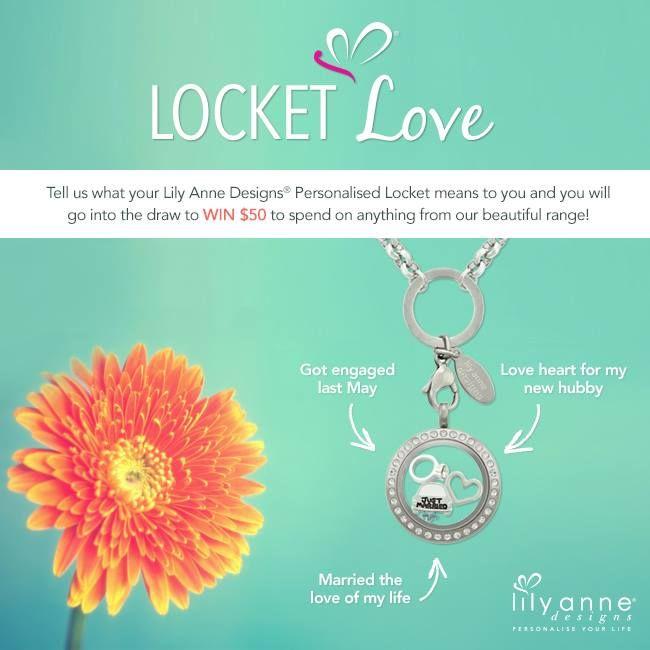 {Locket Love}   Have you entered our Locket Love competition yet?    www.lilyannedesigns.com.au/locket-love  #LilyAnneDesigns #PersonalisedLockets #LocketLove