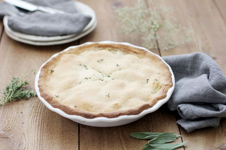 Traditional versions of chicken pot pie include ingredients like refrigerated pie crust, vegetable shortening and white flour. My chicken pot pie recipe is both nutritious and delicious.