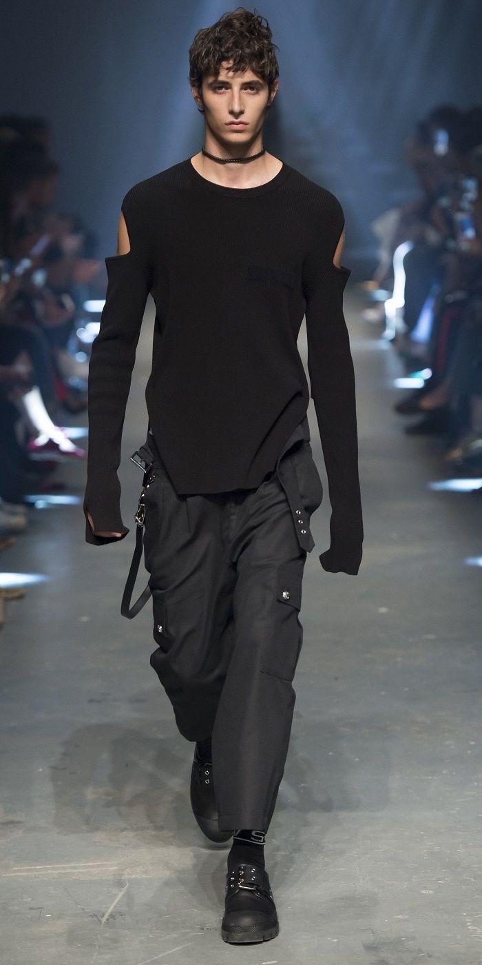 Desfile London Fashion Week PrimaveraVero 2017 Versus Versace Destaques Fragmentos de Moda