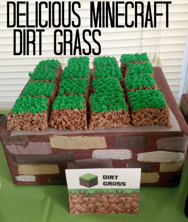Minecraft Dirt Grass recipe #minecraft