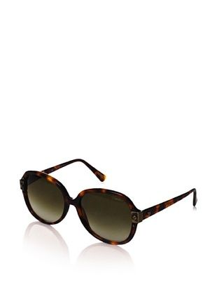 65% OFF Lanvin Women's Oversized Frame Sunglasses, Dark Havana
