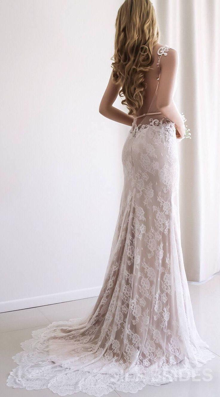 Wedding Dresses Wedding Dress Lace Wedding Dress Backless Bridal Dress Boho Wedding Backless Lace Wedding Dress Backless Wedding Backless Wedding Dress