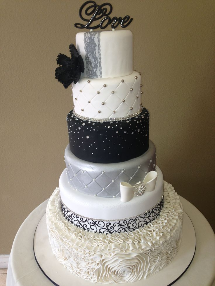 Wedding Cake By Cake Designs Las Vegas Cakes Pinterest