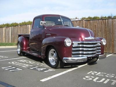1953 CHEVROLET 3100 PICKUP Maintenance/restoration of old/vintage vehicles: the material for new cogs/casters/gears/pads could be cast polyamide which I (Cast polyamide) can produce. My contact: tatjana.alic@windowslive.com