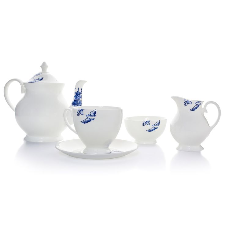 Willow Tea Set - by Richard Brendon {Wolf & Badger designer} {English Tea}