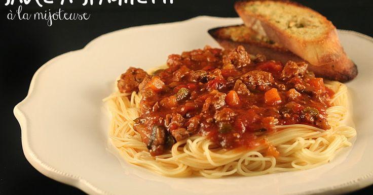 Cinq Fourchettes etc.: 5 trucs pour préparer une sauce à spagh en moins de 5 minutes!