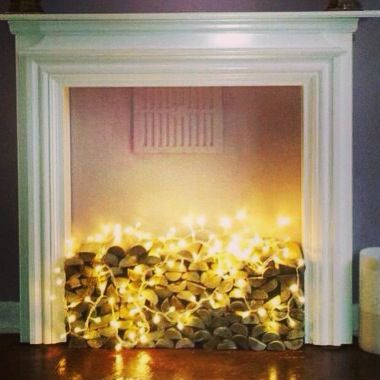 Non- working fireplace idea