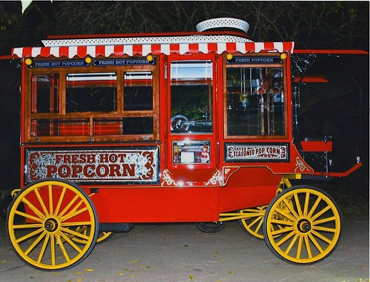 Vintage Popcorn Trucks And Wagons For Sale | Autos Post