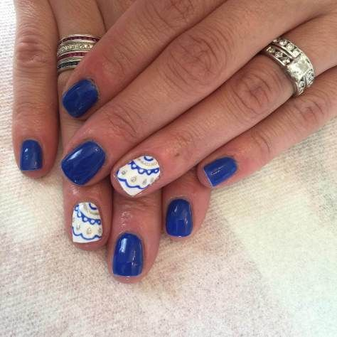 25 best ideas about royal blue nails on pinterest blue