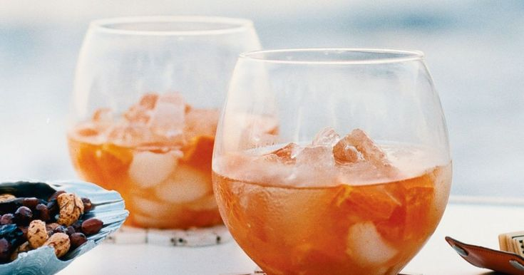 Raise your glasses to this cheery cocktail.