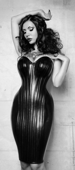 The ultimate corset dress.