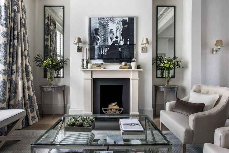 London Townhouse Sitting Room. Sims Hilditch Interior Design