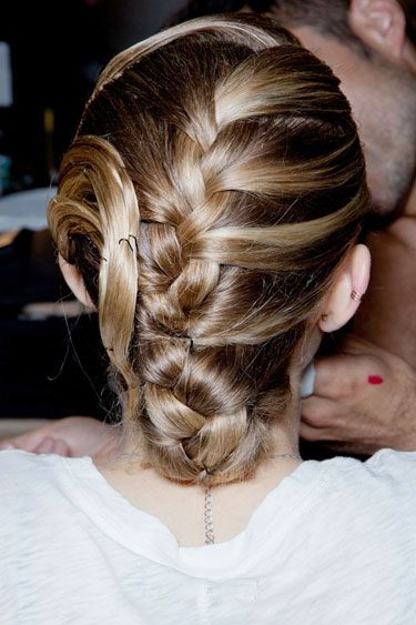 The Most Anticipated Hair Trends For Spring 2013 - Making The Braid - Jason Wu