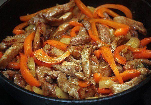 Фото к рецепту: Мясо по-тайски