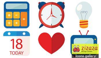 #Freebies #Icon set - Business - Zizaza item for