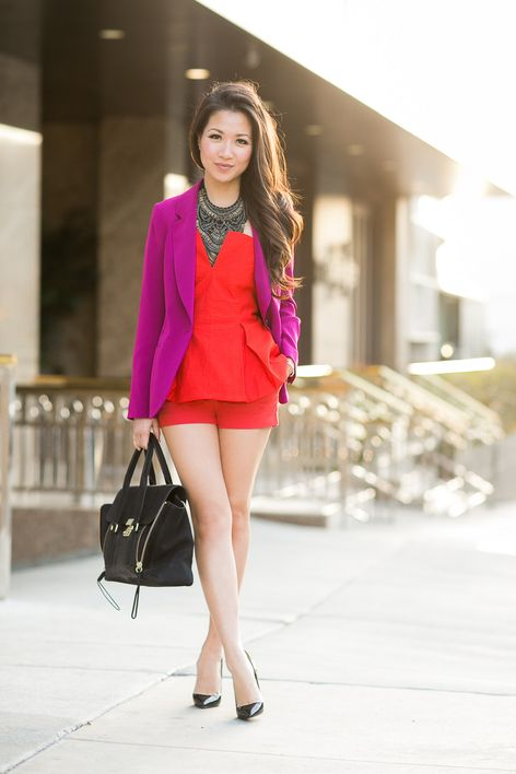 purple and red outfit wendy nguyen