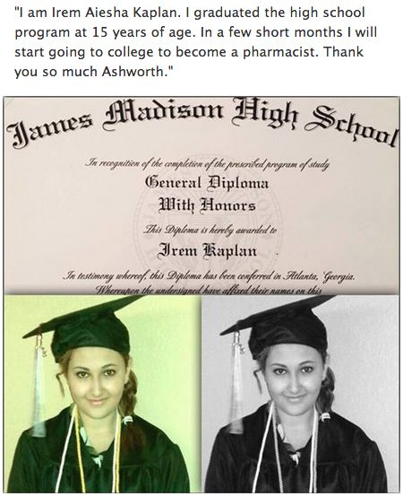 Irem graduated from our James Madison High School online program!  Check out more James Madison High School Reviews by visiting:  http://www.jmhs.com/why-jmhs/testimonials