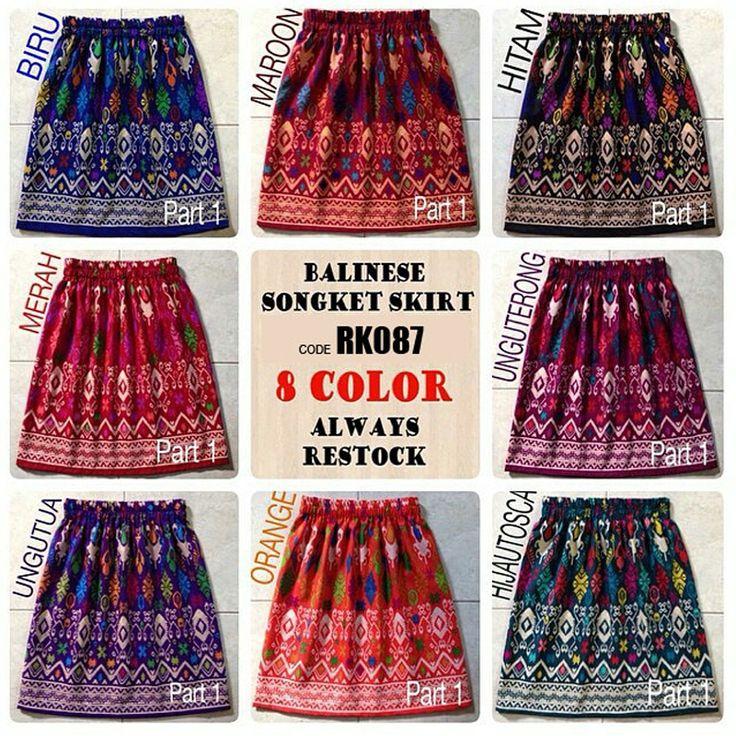RK087-LOCAL Balinese Songket Skirt - https://www.afwindo.com/shop/skirt/rk087-local-balinese-songket-skirt-2/