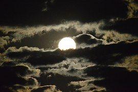 Moon, Heaven, Night