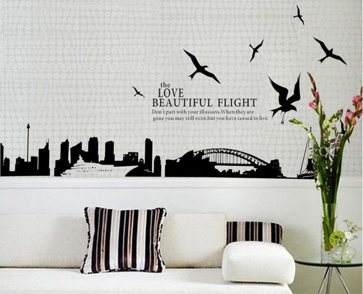 The  Best Images About Wall Decals On Pinterest Home - Custom vinyl wall decals removable   how to remove