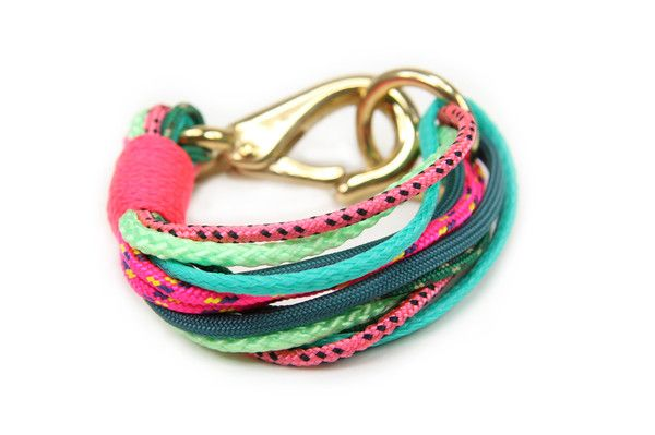 The Ropes Maine Portland Neon Cuff
