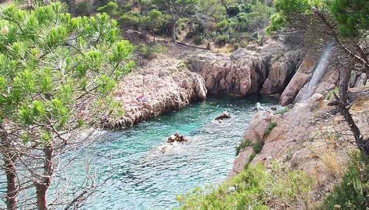 Camino de ronda de Sant Feliu a San Pol. Cala Ametller. Excursiones con niños en Cataluña. Las mejores rutas para hacer con niños