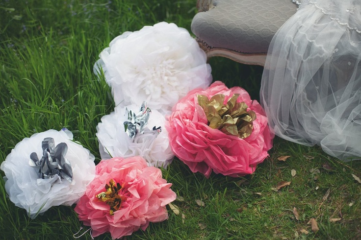 handmade paper decorations supplied and styled by @Pearl and Earl photography by @Lisa Devlin