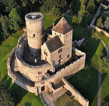 Chateau de Agaz-le-Rideau, Chimen, France