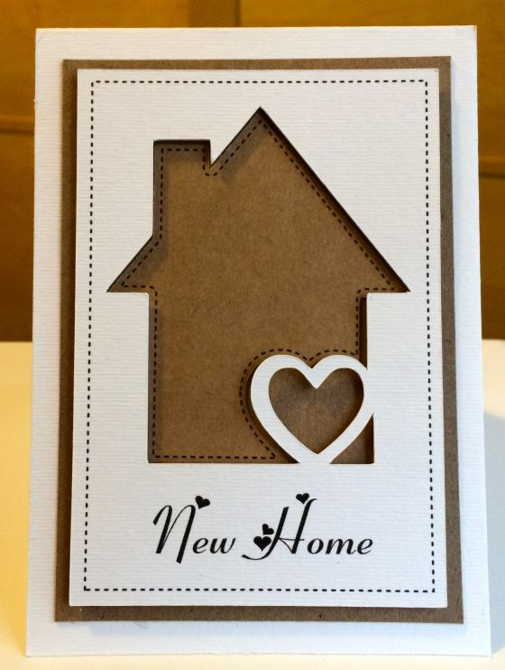 Amazing Card Making Ideas For Moving House Part - 11: Made With The Silhouette Cameo. Silhouette Cameo CardsSilhouette  DesignSilhouette ProjectsMoving CardHouse ...