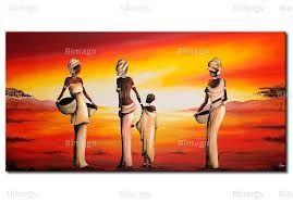 pinturas a oleo africanas - Pesquisa Google                              …