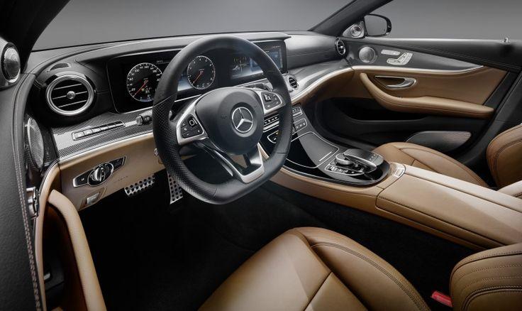 Prezantohet interieri i Mercedes-Benz E-Class 2017