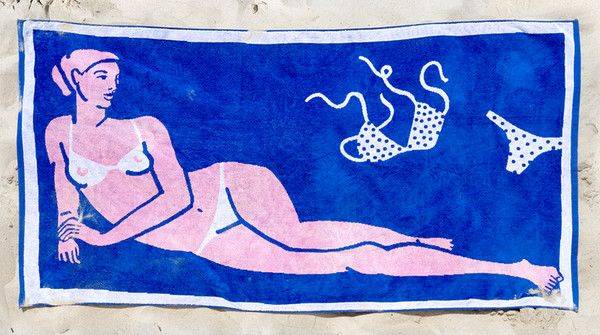 Made in the Sand - Cool Designer Beach Towels For a Cause- Lonny