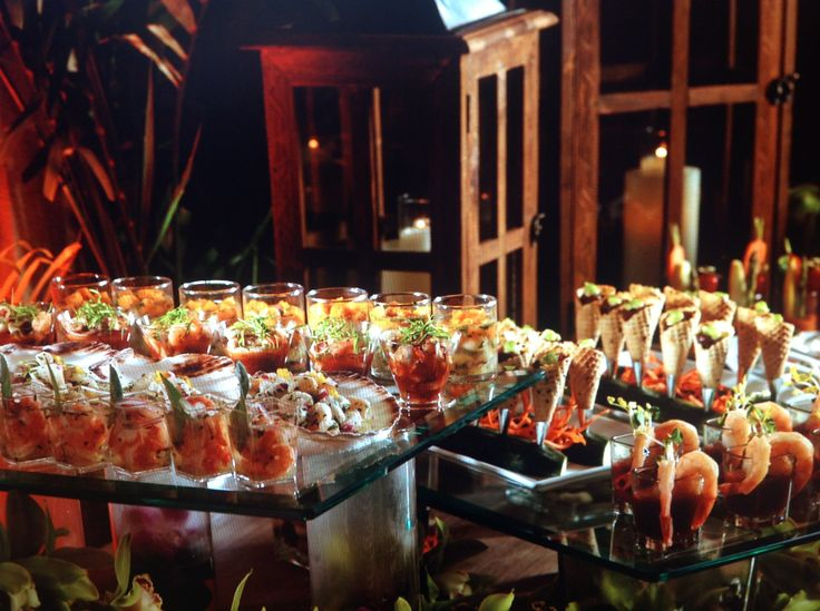 Ceviche Station-The Biltmore Hotel | Cool Food | Food ...