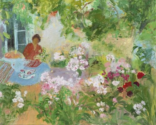 La Table de Jardin, Nancy Delouis