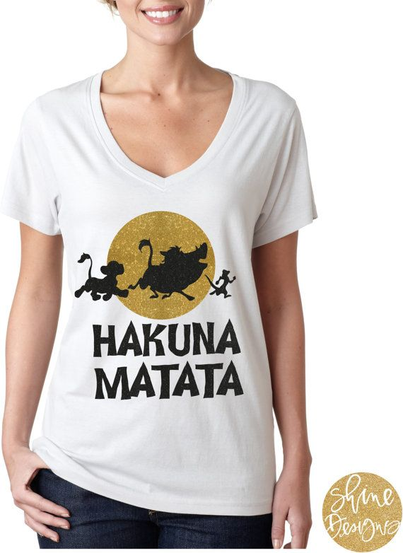 The Lion King Glitter Shirt Youll have no worries in our Lion King shirt! This glitter design comes on your choice of a white apparel top, but if you would like a different color/style shirt, please message us for details. We would love for you to share your pictures with us!!