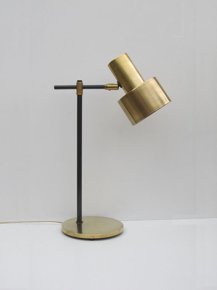 17 Best ideas about Brass Lamp – Gold Desk Lamps