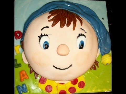 Noddy Birthday Cake - YouTube