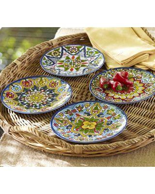 Feather Tree Fantasy  sc 1 st  Pinterest & 10 best Mexican dinnerware images on Pinterest | Dinnerware Dish ...